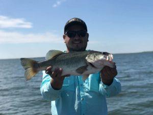 Sugar Lake Mexico Bass Fishing